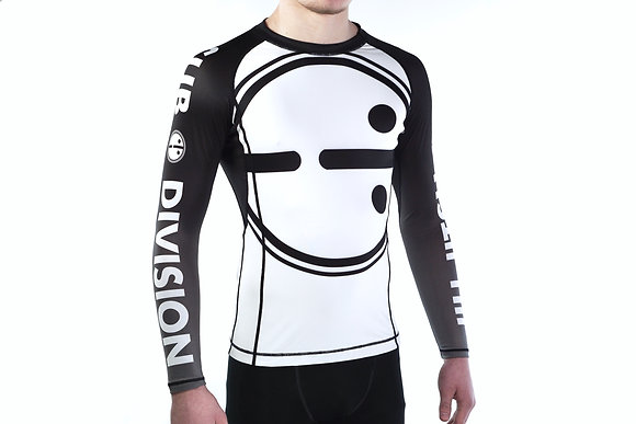 svbdvsn White Belt Best Ranked futureTECH UNISEX rash guard nogi
