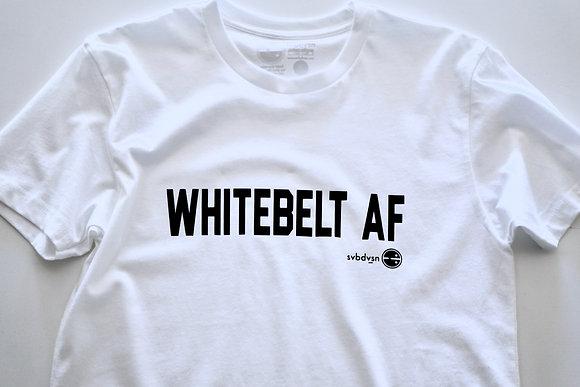 WHITEBELT AF: ORIGINALS Short Sleeve Tee - unisex