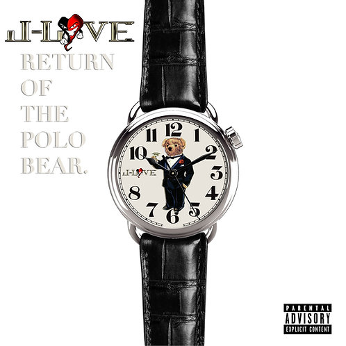 J-love - Return Of The Polo Bear with bonus Cd pack