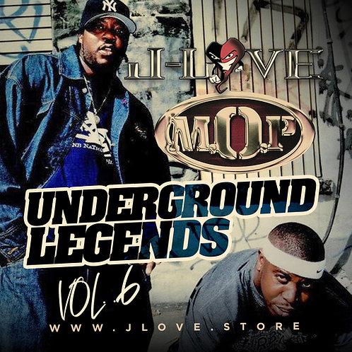 J-Love - M.O.P - Underground Legends vol 6