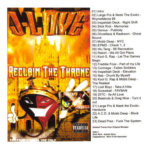 J-Love - Reclaim The Throne