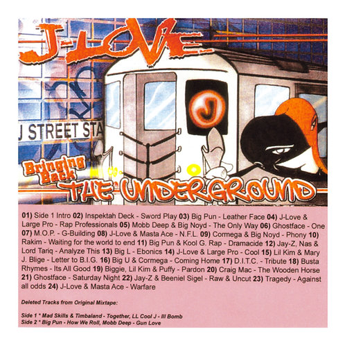 J-Love - Bringing Back The Underground