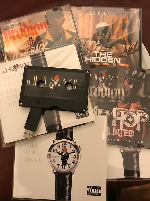 J-Love - Collectible Mixtape Flash Drive