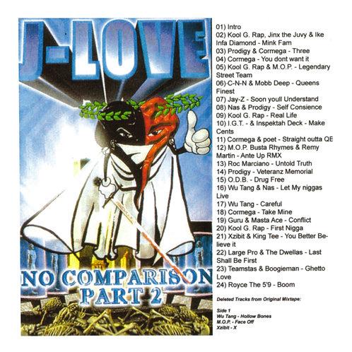 J-Love - No Comparison pt 2