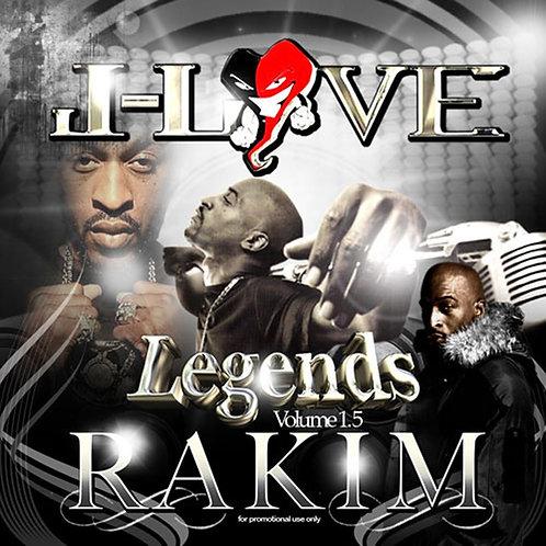 J-Love - Rakim - Legends Vol 1.2