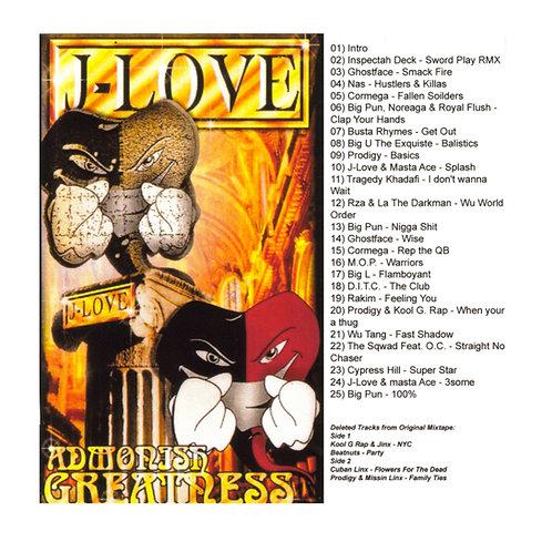 J-Love - Admonish Greatness