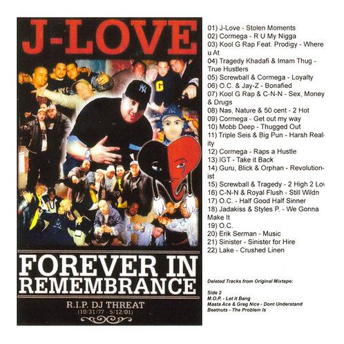 J-Love - Forever In Remembrance