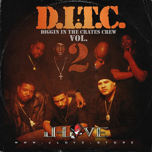 J-Love - D.I.T.C - Digggin' in The Crates Crew vol 2