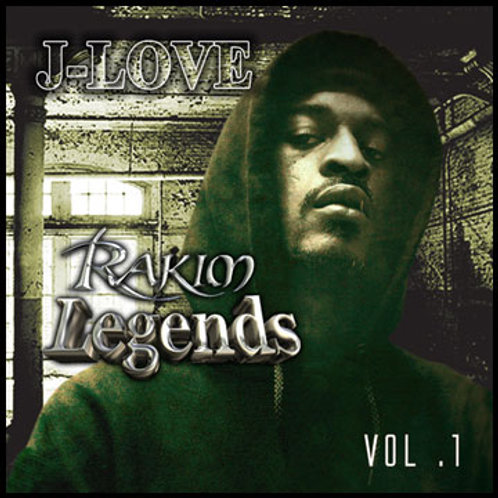 J-Love - Rakim - Legends Vol 1