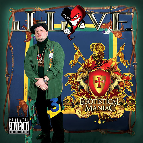 J-Love - Egotistical Maniac Double Album