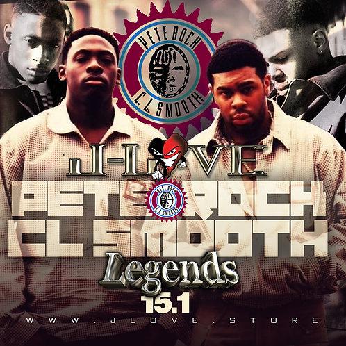 J-Love - Pete Rock & C.L. Smooth - legends vol 15.1