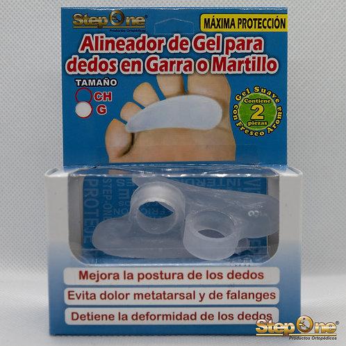 Alineador de Gel para Dedos Garra o Martillo