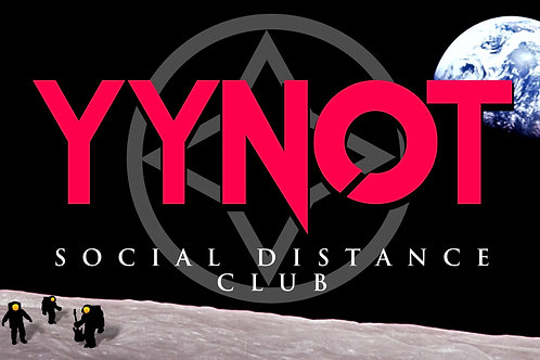 YYNOT SDC Signed Poster