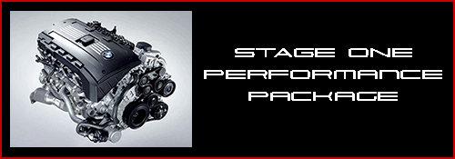 BMW N54 Stage 1 Performance Package