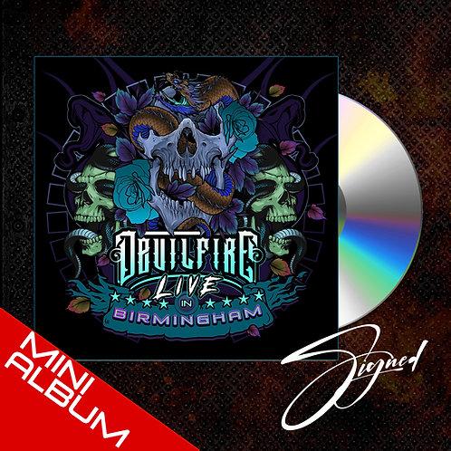 DEVILFIRE - LIVE IN BIRMINGHAM (Signed)