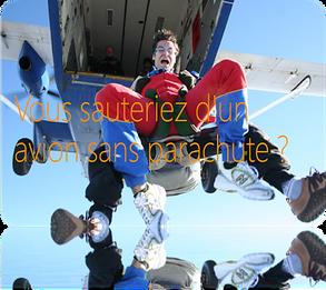 5 évidences sur la gouvernance SharePoint | évidence 1 : sauteriez-vous d'un avion sans parachut