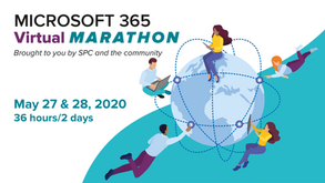 "Ma session ""M365 Vs le Shadow-IT"" retenue au Virtual Marathon M365 les 27 et 28 mai 2020"