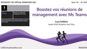 Cas d'usage | Boostez vos réunions de management avec Ms Teams (la recette)