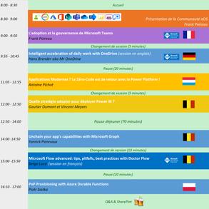 4e édition d'aOS Luxembourg | Le programme du 16 mai