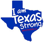 "Texas State Employee Charitable Campaig Logo ""I Am Texas Strong"""