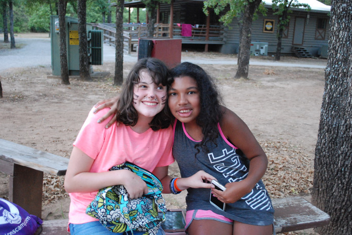 Friends at Camp Summit