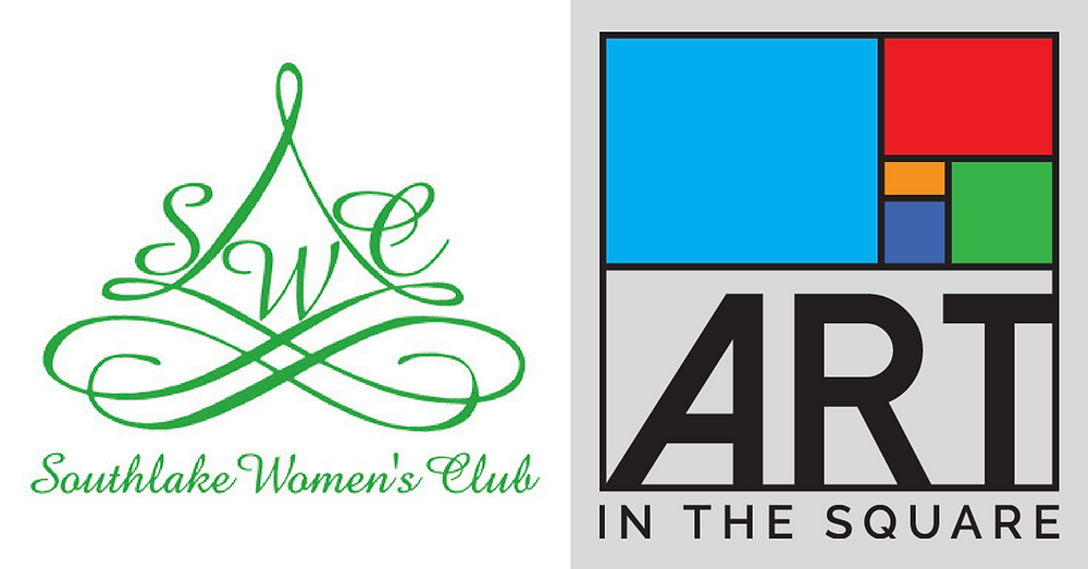 Southlake Women's Club and Art In The Square Logo