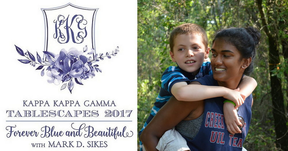 Kappa Kappa Gamma Tablescapes 2017 Supports Camp Summit