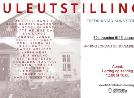 Juleutstilling i Fredrikstad kunstforening
