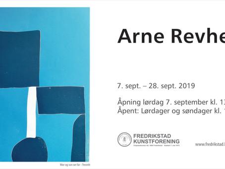 Arne Revheim stiller ut i foreningen til og med 29 september.