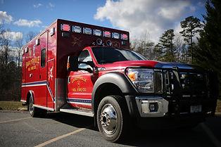 Ambulance 4, Earlysville Fire