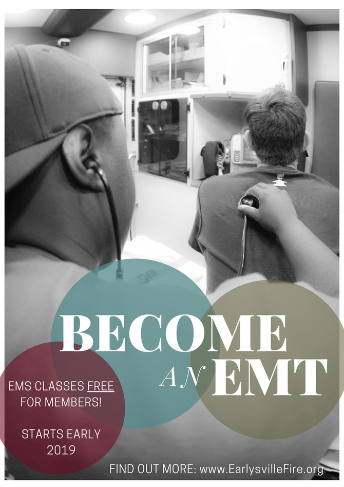 PSSST... Become an EMT - For FREE