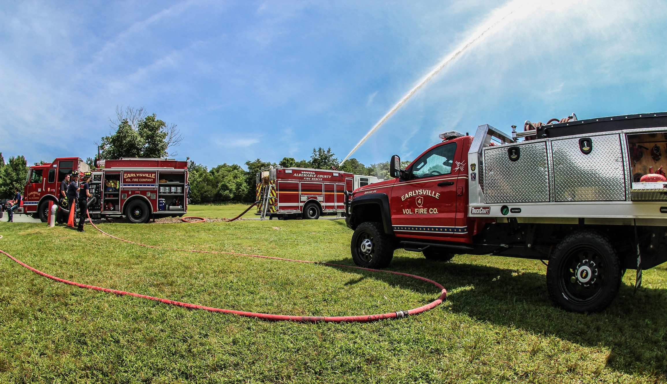 NEWS & EVENTS | Earlysville Fire Company located in