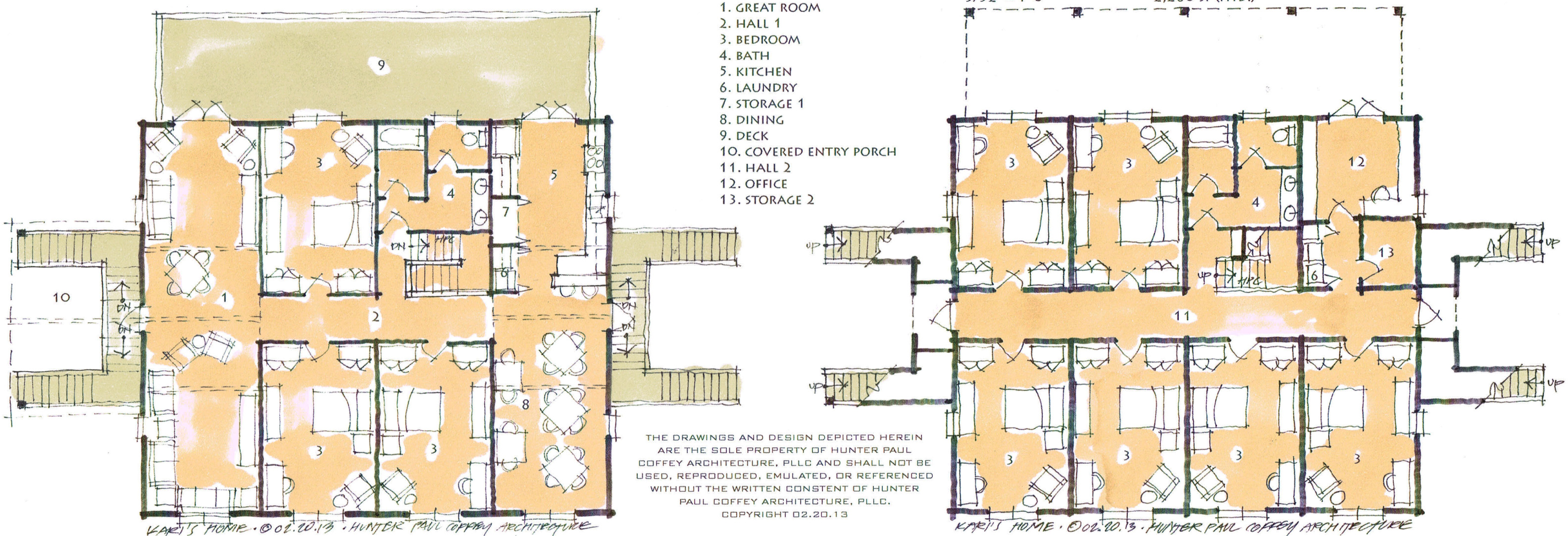 Kari's Home - Plans