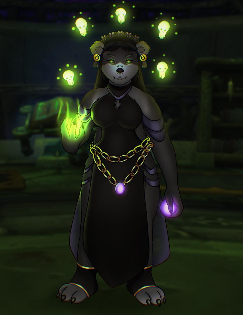 Iza - Pandaren Necromancer.jpeg