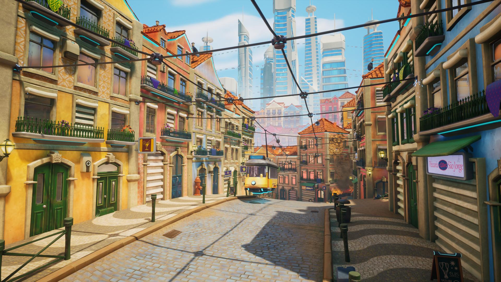 Georg Klein - Lisbon Streets - Overwatch