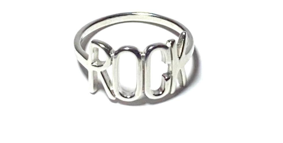 Bague Rock