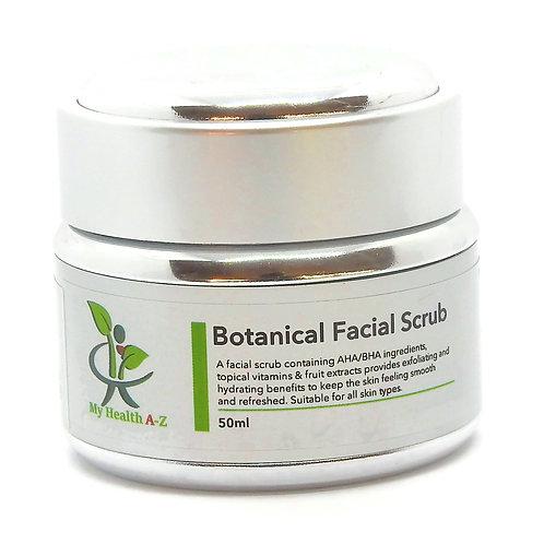 Botanical Facial Scrub      (50ml)   VEGAN
