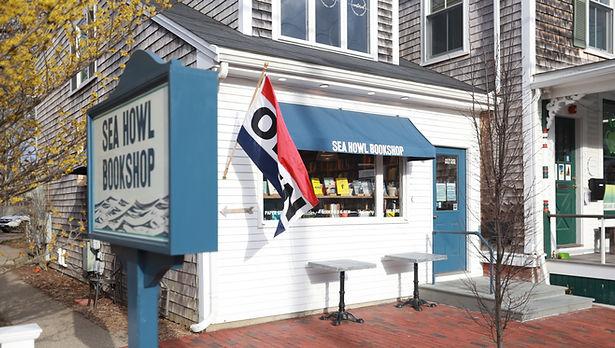 Sea Howl Bookshop storefront