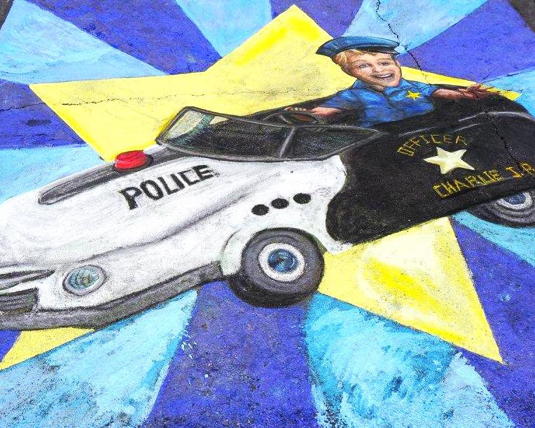 Chalk A Lot Street 2015
