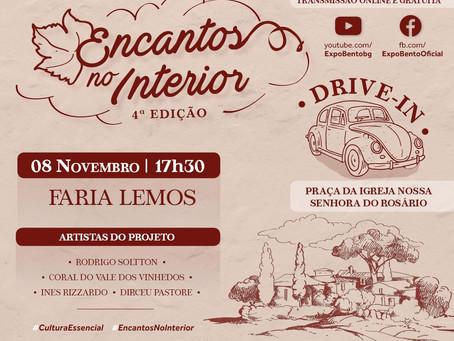 """Paróquia de Faria Lemos sedia primeira atividade do projeto """"Encantos do Interior"""""""