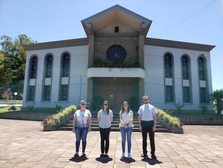 Equipe do Centro Paroquial visita comunidades da Paróquia Nossa Senhora do Rosário