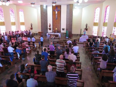 Paróquia de Faria Lemos realiza 123ª Festa de Nossa Senhora do Rosário