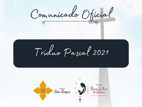 Celebrações do Tríduo Pascal das paróquias São Roque e Nossa Senhora do Rosário serão transmitidas