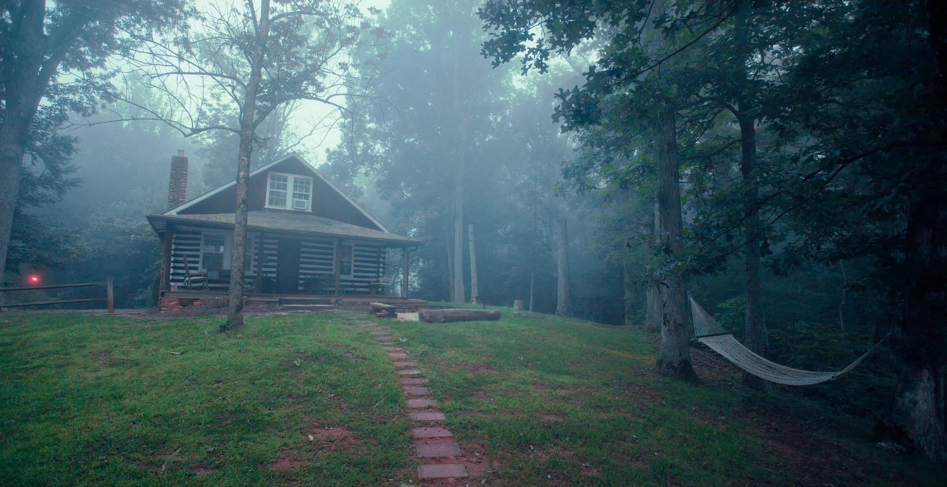 Log Cabin Front Yard