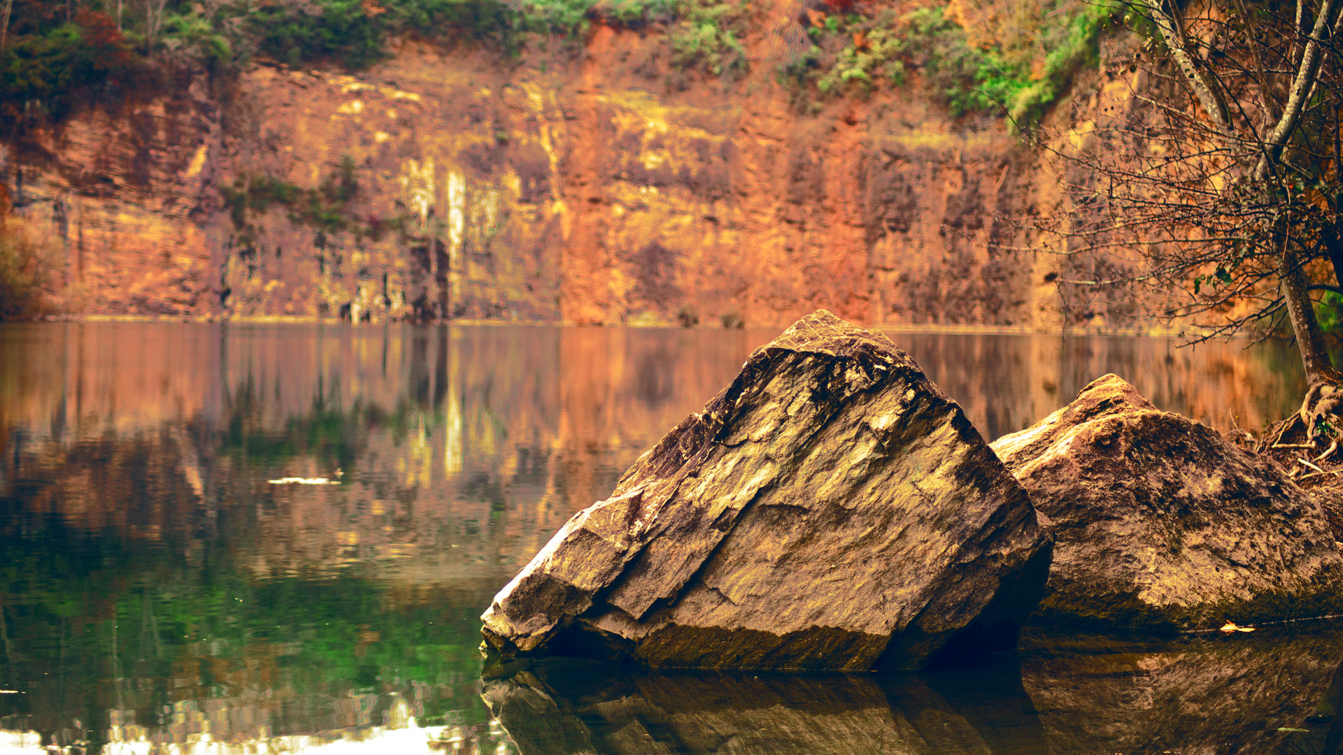 Fort Dickerson Quarry in Knoxville