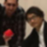 Fumito Ueda has a Reggie as present during Fun&Serious festivel