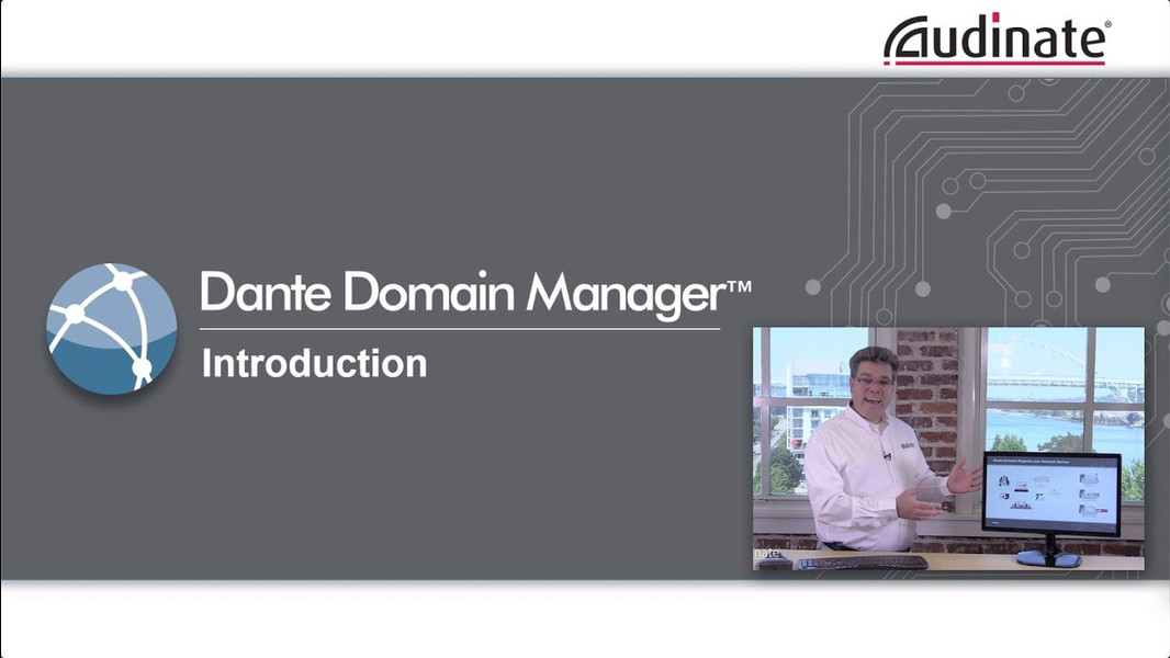 Audinate Dante Domain Manager