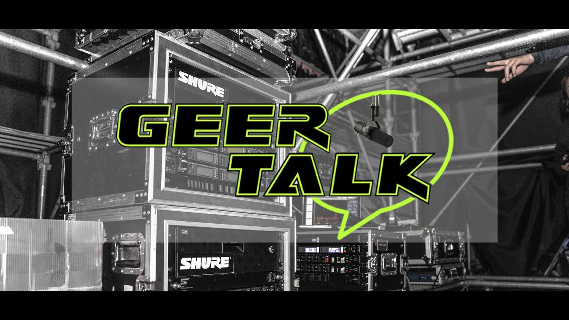 Geer Talk: Shure Pro Live Stream