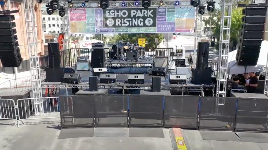 Audio Geer at Echo Park Rising
