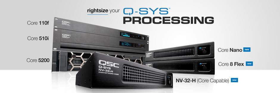 QSC Unveils New Products
